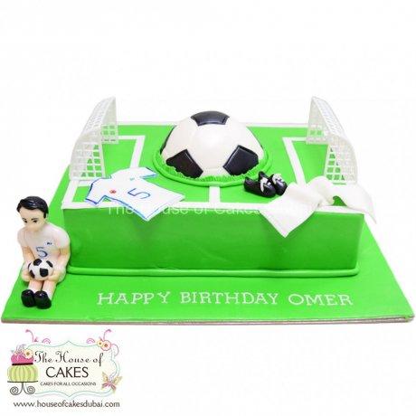Football cake 7