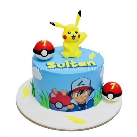 Pokemon cake 12