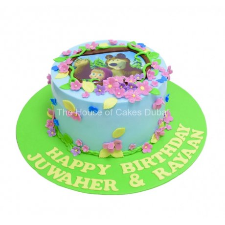 masha and the bear cake 7 6