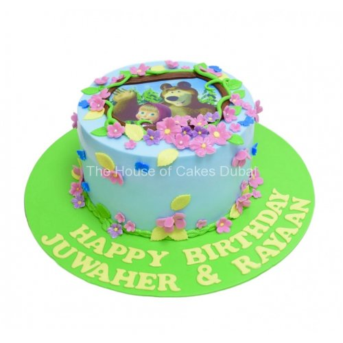 masha and the bear cake 7 7