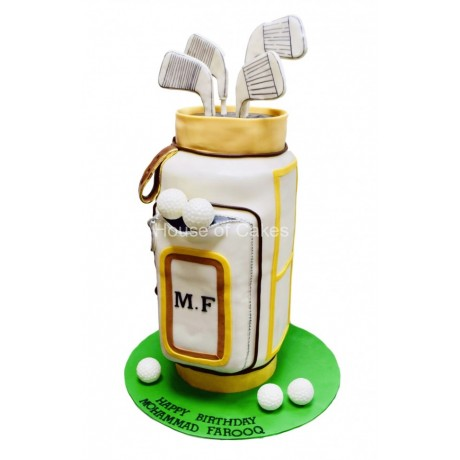 golf bag cake 3 6