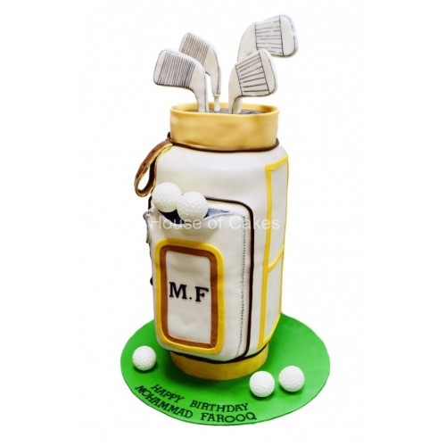 golf bag cake 3 7