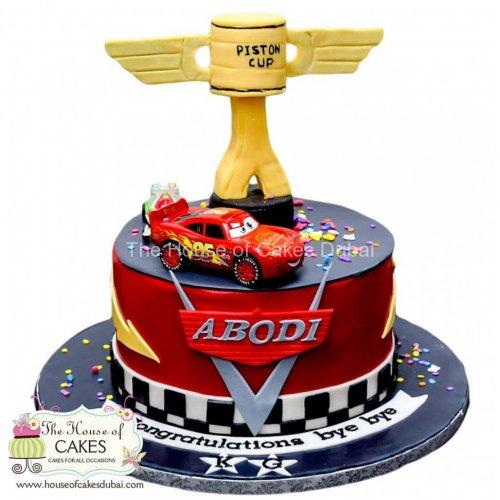 Disney Cars Mcqueen Cake 8