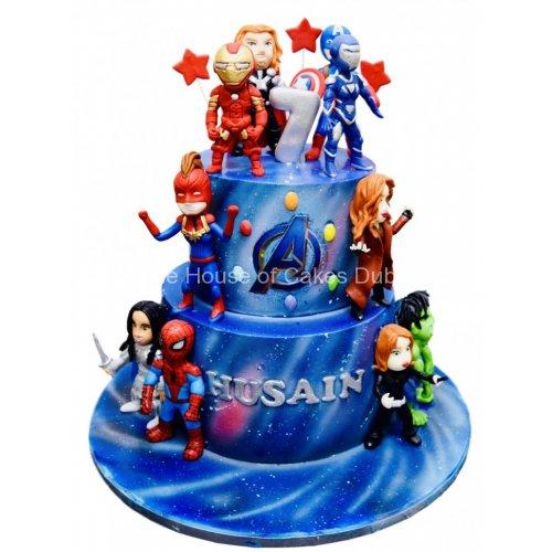 Marvel Superheroes Cake 25
