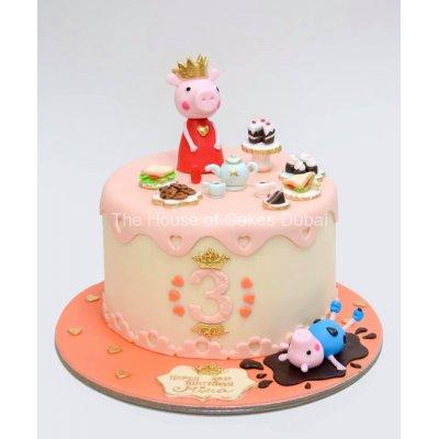 Peppa Pig Cake 19