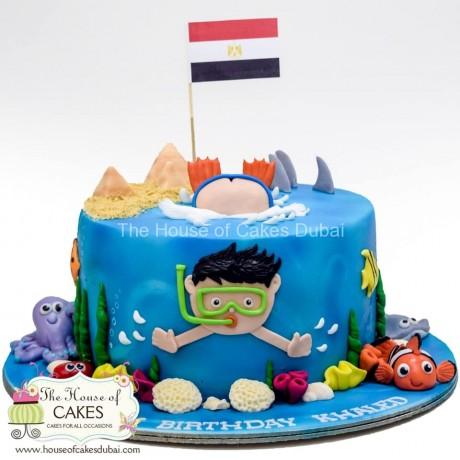 diver cake 6 6