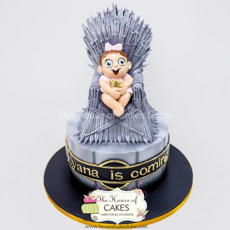 game of thrones baby cake 6