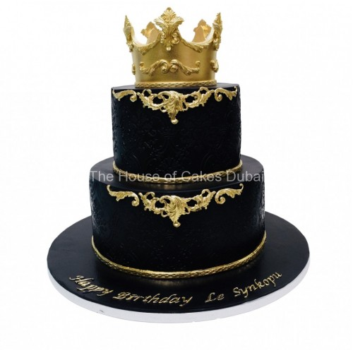 Crown Cake 33