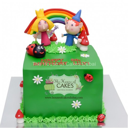 ben and holly cake 2 13