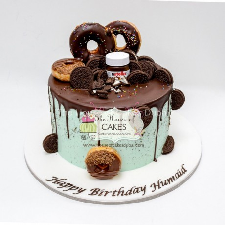 cake with doughnuts 1 7