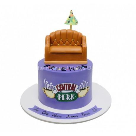 Friends cake 5