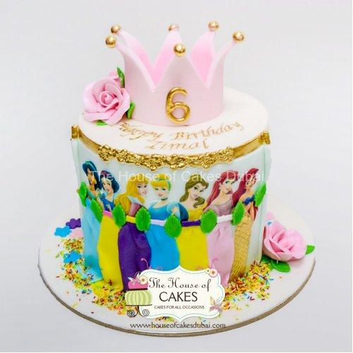 Disney Princesses Cake 26