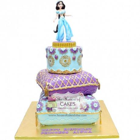 Princess Jasmine Cake 3