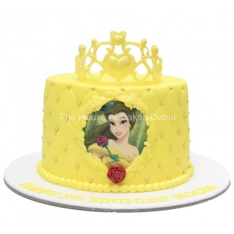 belle cake beauty and the beast 6