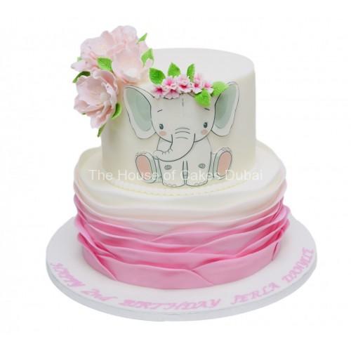 cute elephant cake 3 7