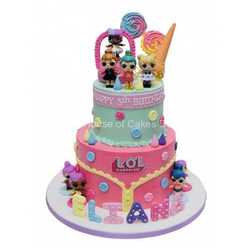 Buttercream LOL Cake 14