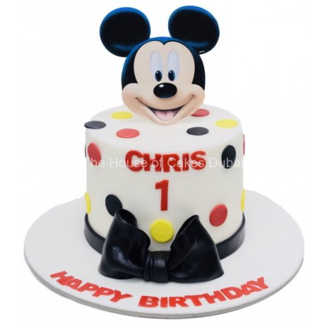 Mickey Mouse Cake 37