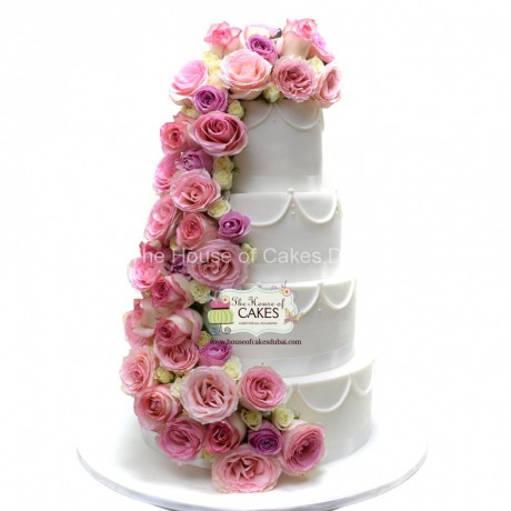 cake with roses 15 6