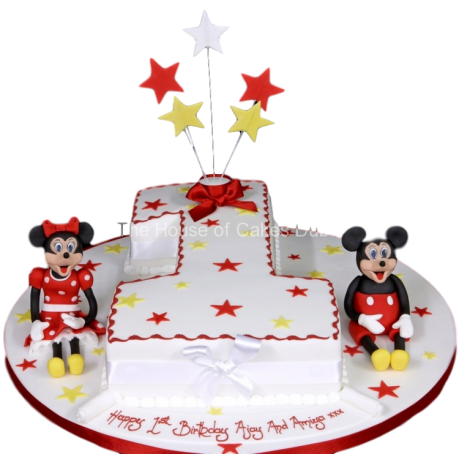 first birthday cake mickey and minnie mouse 6