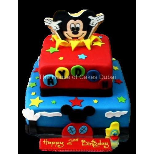 Pleasing Mickey Mouse Cake 15 Funny Birthday Cards Online Alyptdamsfinfo