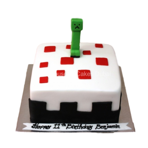 Minecraft Cake 4