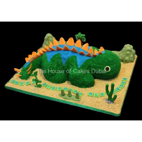 dinosaur cake 5 7