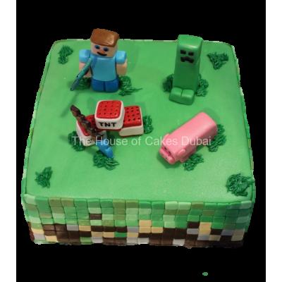 Minecraft cake 11