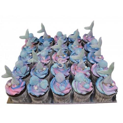 Mermaid cupcakes 1
