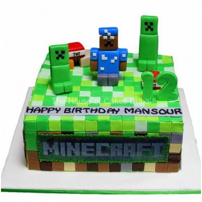 Minecraft cake 7