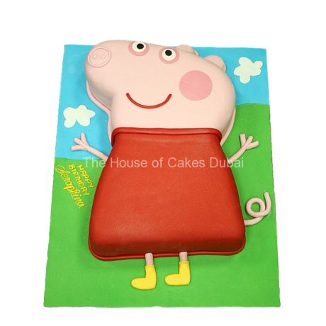 peppa pig cake 4 6