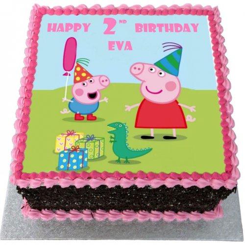 peppa pig cake 10 7