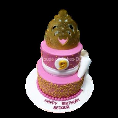 Crown cake 18