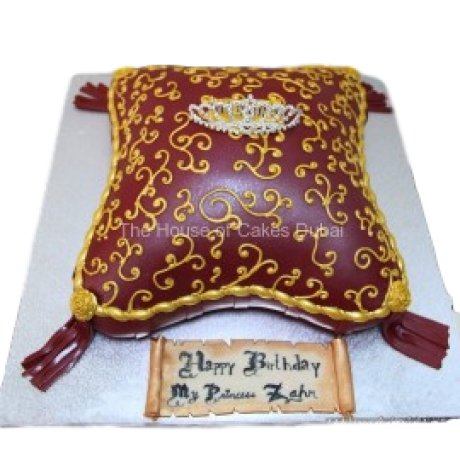 Crown cake 8
