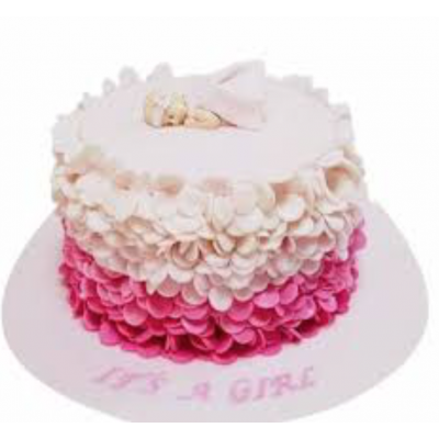 Baby girl cake 4