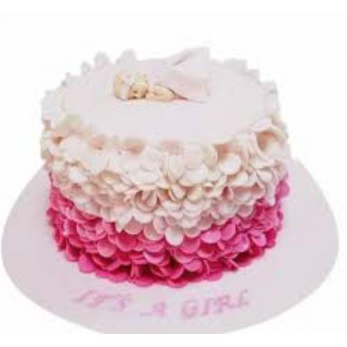 baby girl cake 4 7