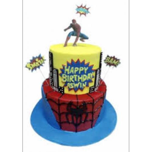spiderman cake 27 7