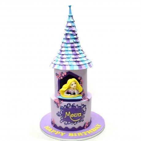 rapunzel cake 10 6