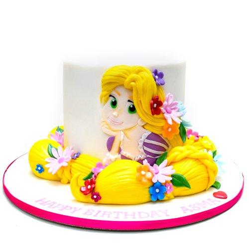 Rapunzel cake 11