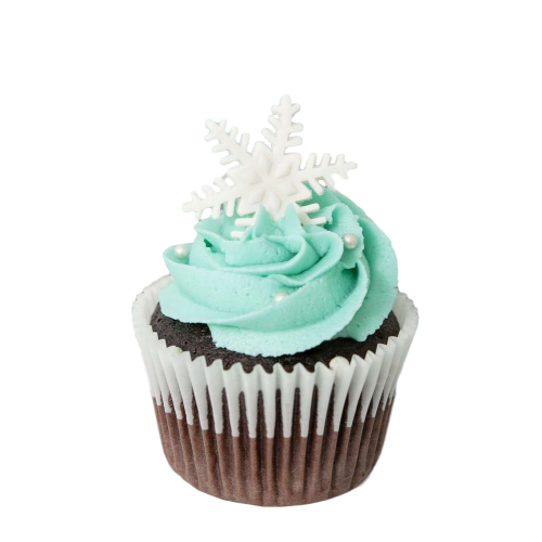 snowflake cupcake 7