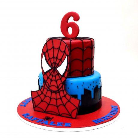 Spiderman Cake 29