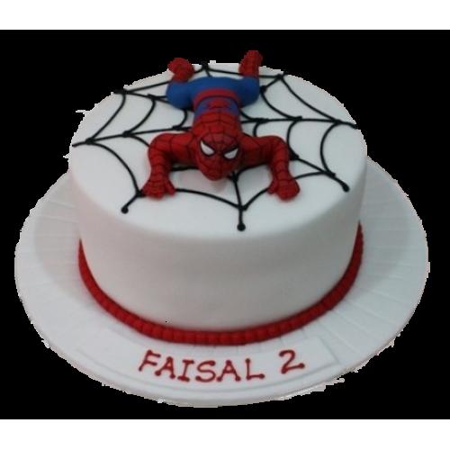 spiderman cake 1 7