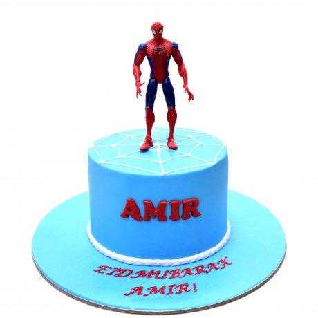 spiderman cake 30 6
