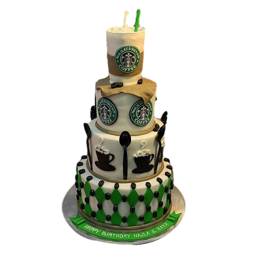 Starbucks cake 2