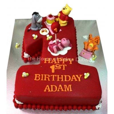 Winnie The Pooh cake 19
