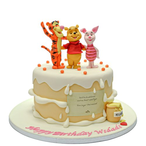 winnie and friends birthday cake 7