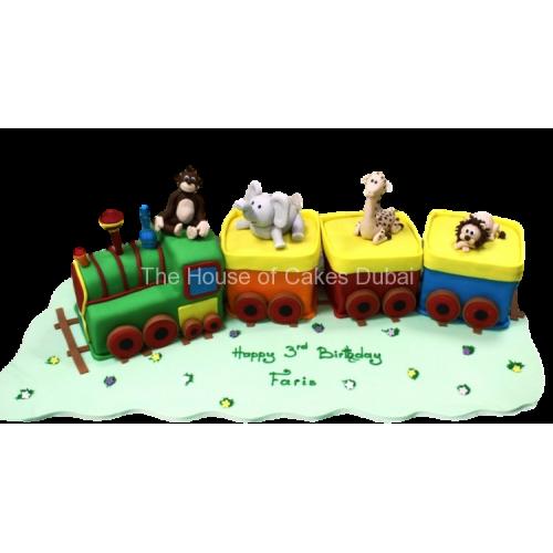 animals train cake 2 7