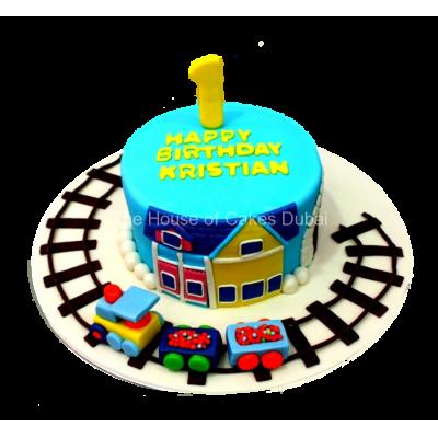 Train cake 2