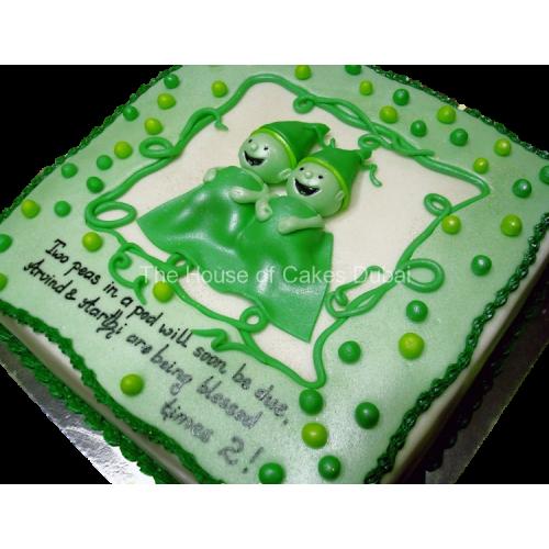 Twin Peas Cake 2