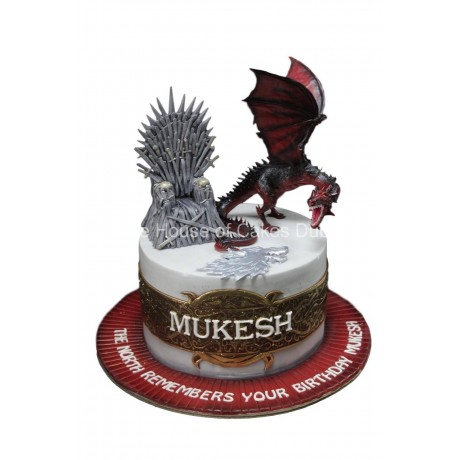 Game of thrones cake 7